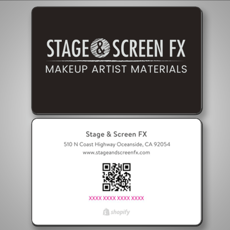 Stage & Screen FX Gift Card