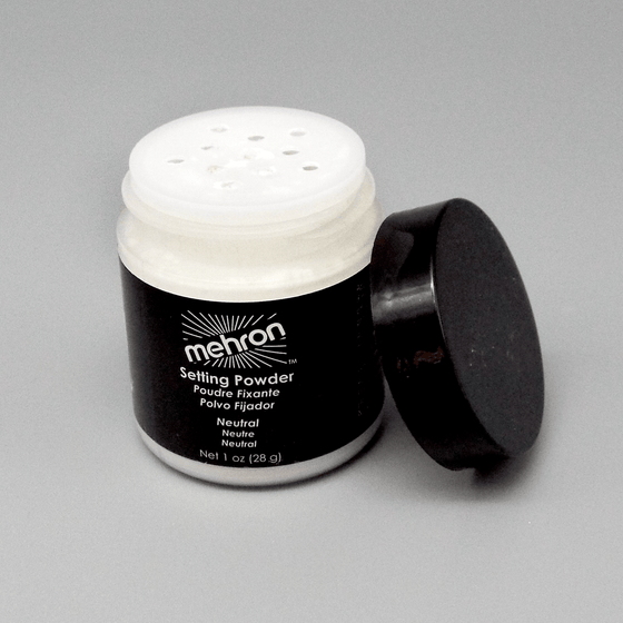 Powder - Mehron Setting Powder - Ultra Fine - Shaker Jar