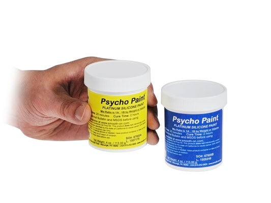 Smooth-On Psycho Paint Platinum Silicone Paint Base - 8 oz. Kit