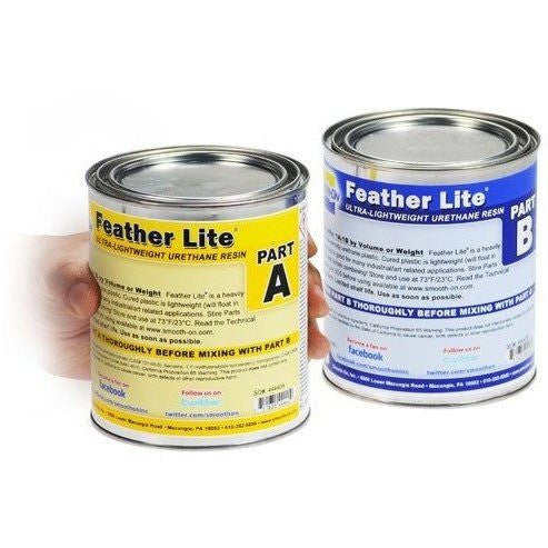 Resins And Plastics Etc - Smooth-On Feather Lite® Lightweight Liquid Plastic