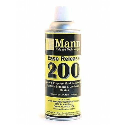 Mann Ease Release 200 Silicone And Urethane Mold Release