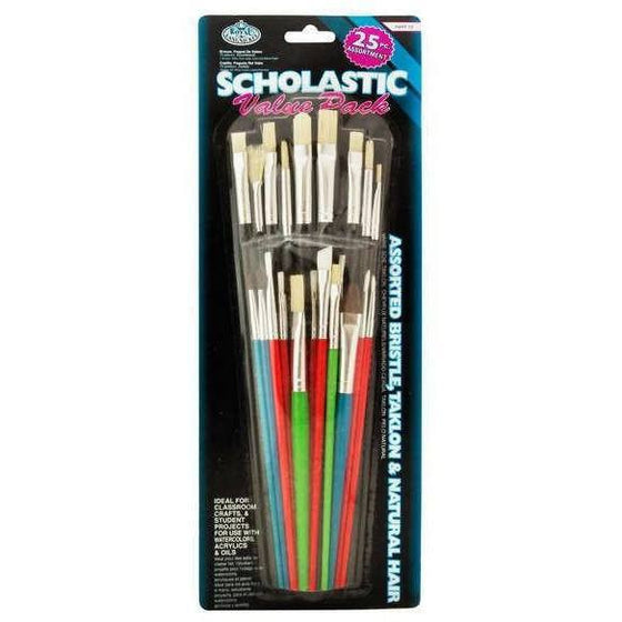 Tools - 25 PC STUDENT VALUE BRUSH PACK - RART 19