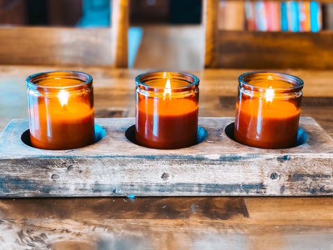 soy candles, candle safety, michigan candles, trim wick