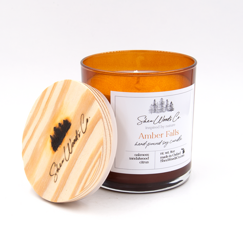 Amber Falls Luxury Soy Candle