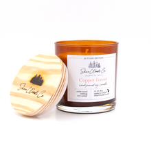 Load image into Gallery viewer, Copper Forest - Autumn Edition - 8 ounce Hand Poured Pure Soy Candle