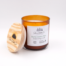 Load image into Gallery viewer, Backcountry Pine - 8 ounce Hand Poured Soy Candle NEW JAR