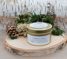 Load image into Gallery viewer, Quiet Canoe - 5 ounce Hand Poured Pure Soy Candle Travel Tin