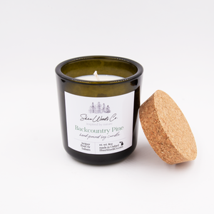 SALE - Backcountry Pine - 8 ounce Hand Poured Soy Candle
