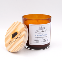 Load image into Gallery viewer, Quiet Canoe - 8 ounce Hand Poured Pure Soy Candle NEW JAR