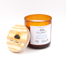 Load image into Gallery viewer, Faded Flannel - Autumn Edition - 8 ounce Hand Poured Pure Soy Candle