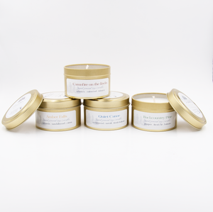 All 4 Signature Scents - Travel Candles ($56 value)