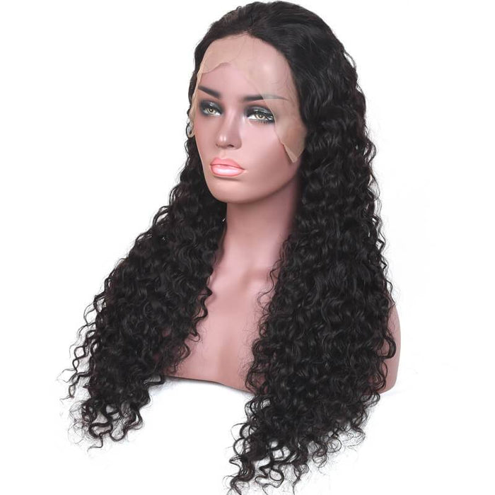 PERUVIAN WATER WAVE LACE FRONTAL WIG