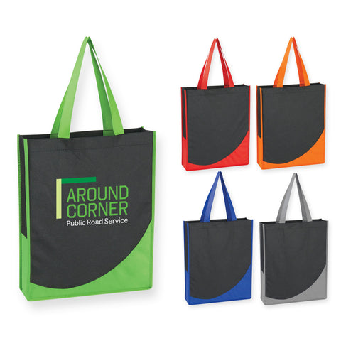 Non-Woven Tote with Accent