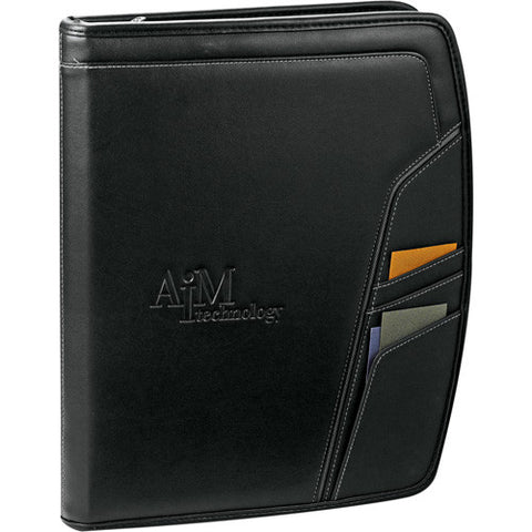 Precision Zippered Padfolio