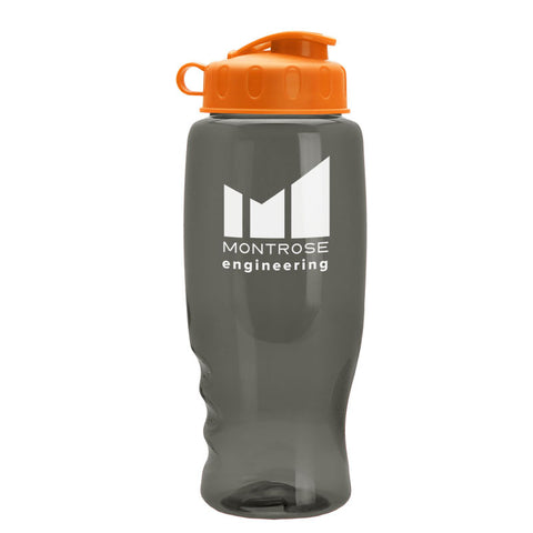 27 oz Poly-Pure Bottle with Flip Top Lid
