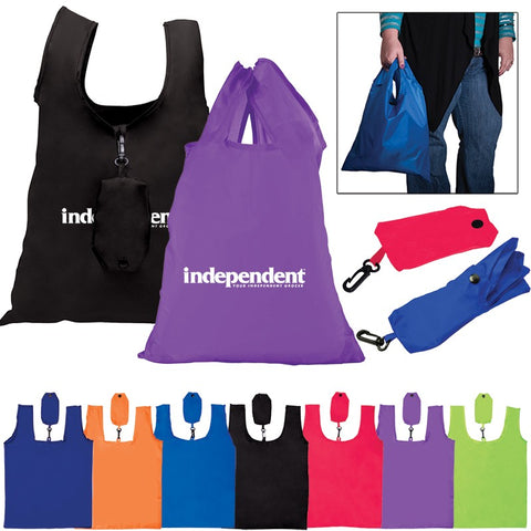 Polyester Folding Grocery Tote