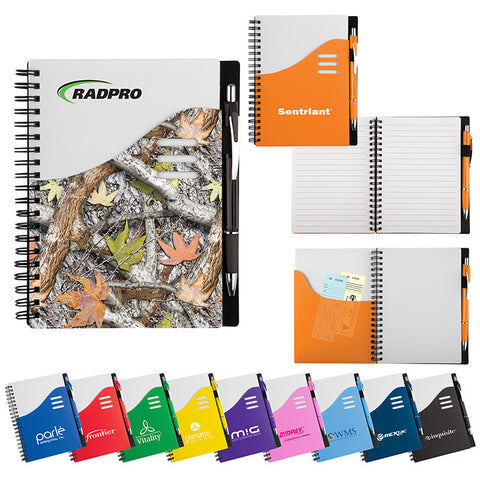 Color Wave Notebook Set