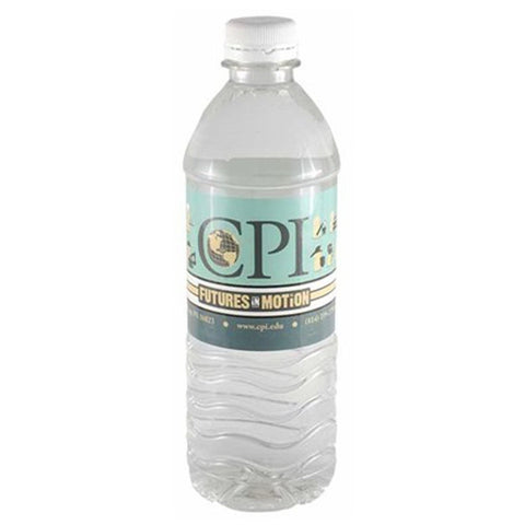 16.9 oz Bottled Water with Flat Cap