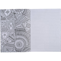 Doodle Color Therapy Notebook