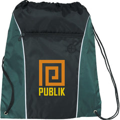 Funnel Drawstring Cinch Backpack