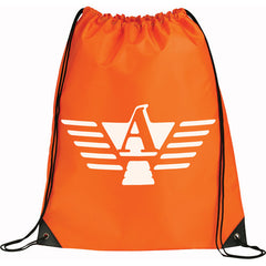 Large Oriole Drawstring Cinch Backpack