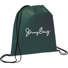 Evergreen Drawstring Cinch Backpack