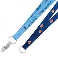 3/4 Screen Printed Lanyard
