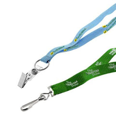 "1/2"" Recycled Screen Printed Lanyard"