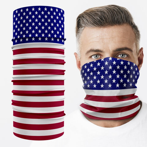 Custom Dye Sublimation Neck Gaiter Multi-Purpose Face Covering