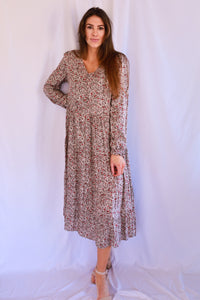 Rayon Challie Printed Dress