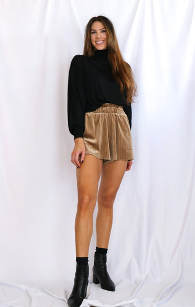 Ruffled Waist Short