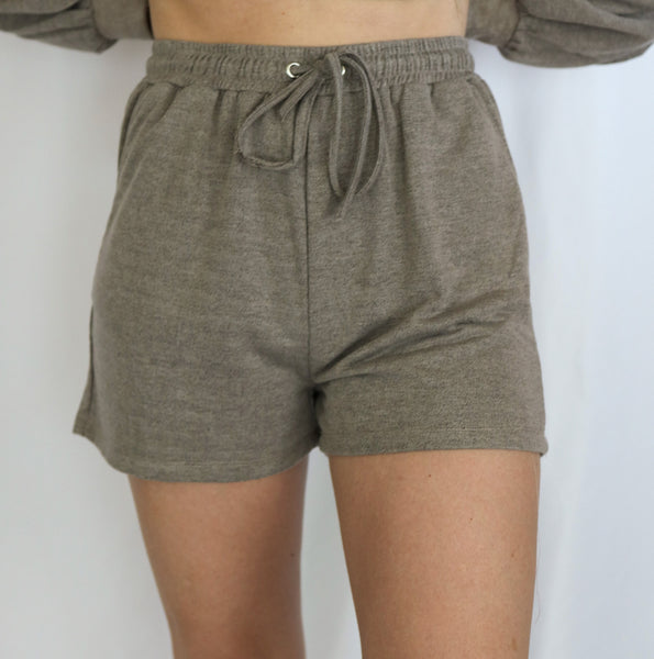 Drawstring Short Pants
