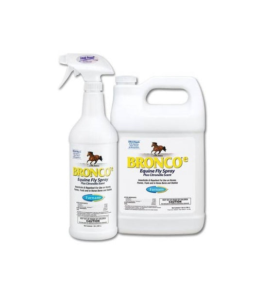 Bronco-e Equine Fly Spray Plus Citronella Scent - TATO'S MALLETS