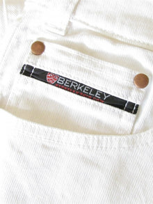 Berkeley Jeans Men's White - TATO'S MALLETS