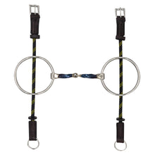 Bombers Big Ring Gag Snaffle Square Twist - TATO'S MALLETS