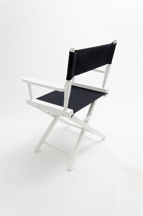 "Director's Chair 18"" - White Finish - TATO'S MALLETS"