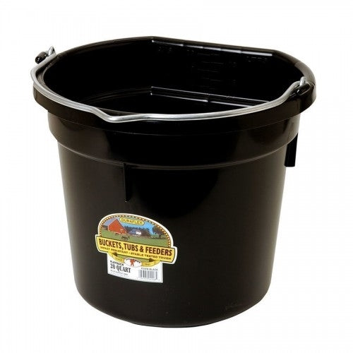 Fortiflex Flat Back Bucket 5 Gallon - TATO'S MALLETS