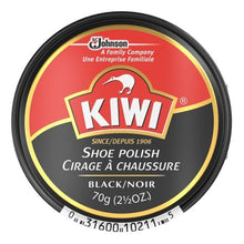 Kiwi Shoe Polish 2.5oz Black - TATO'S MALLETS