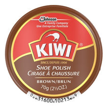 Kiwi Shoe Polish 2.5oz Brown - TATO'S MALLETS