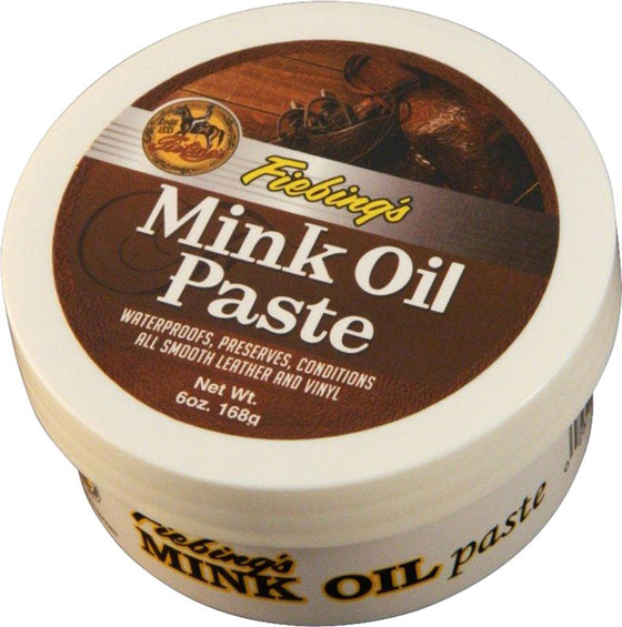 Fiebings Mink Oil Paste 6oz - TATO'S MALLETS