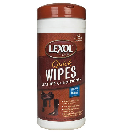 Lexol Wipes Leather Conditioner - TATO'S MALLETS