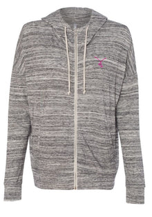 LADIES - TATO'S Max Comfort Zip Up - Heather Grey - TATO'S MALLETS