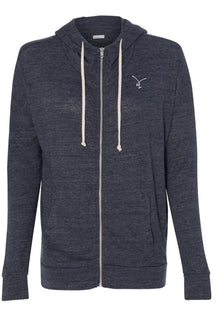 LADIES - TATO'S Max Comfort Zip Up - Faded Navy - TATO'S MALLETS