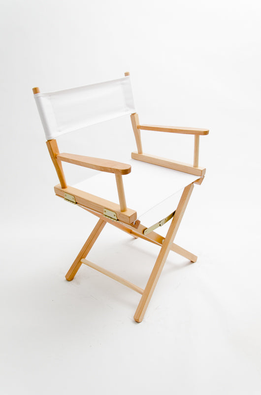 "Director's Chair 18"" - Natural Finish - TATO'S MALLETS"