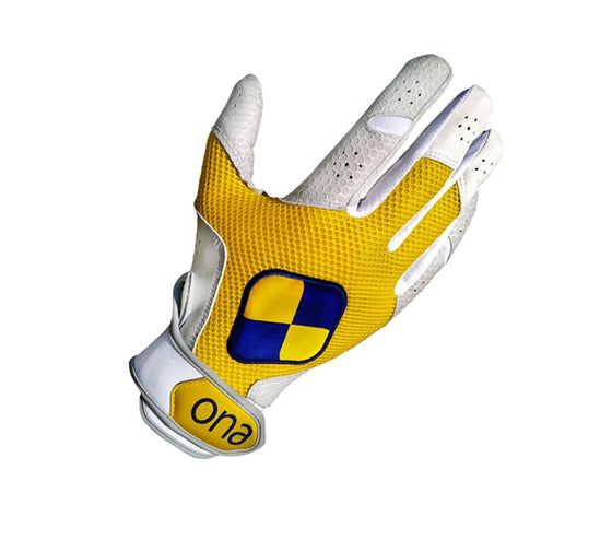 Ona Speed Polo Glove Yellow  (Pair) - TATO'S MALLETS