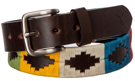Polo Belt - Multi-Color - TATO'S MALLETS