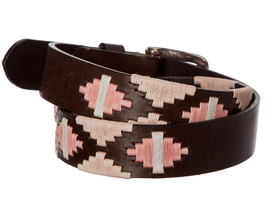 Polo Belt - Pink on Pink - TATO'S MALLETS