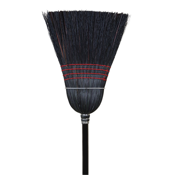 BLACK CORN & RATTAN BROOM - TATO'S MALLETS