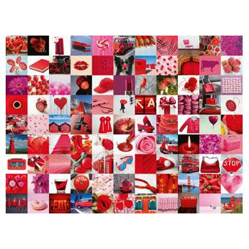 Ravensburger - 99 Beautiful Red Things Puzzle 1500 Piece Jigsaw Puzzle - Get Puzzled