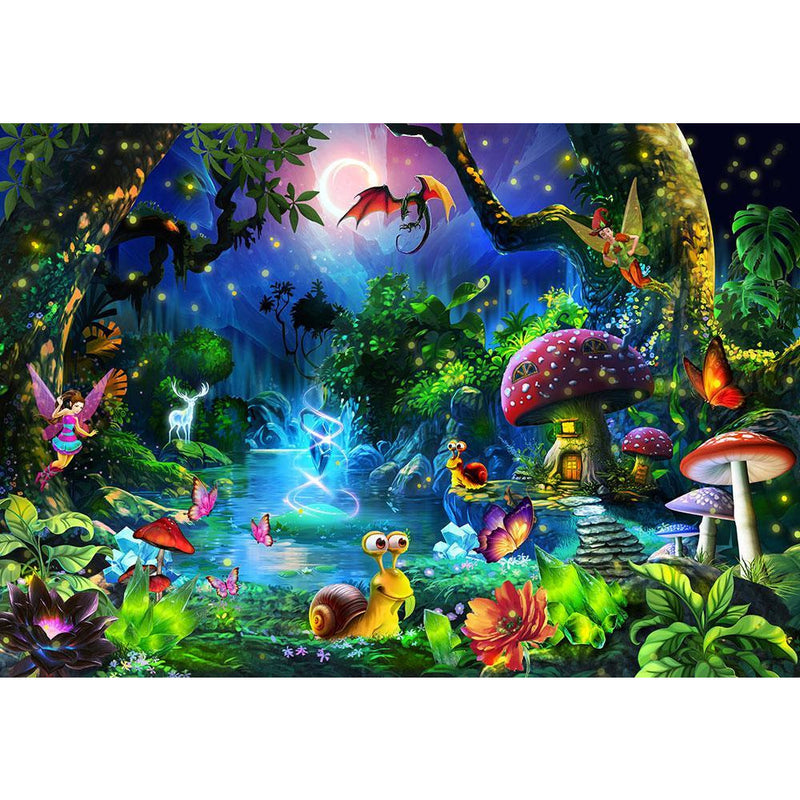 Funbox Fantasy Forest 1000 Piece Jigsaw Puzzle - Get Puzzled